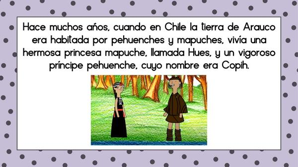 """Leyenda Mapuche """"El copihue"""""""