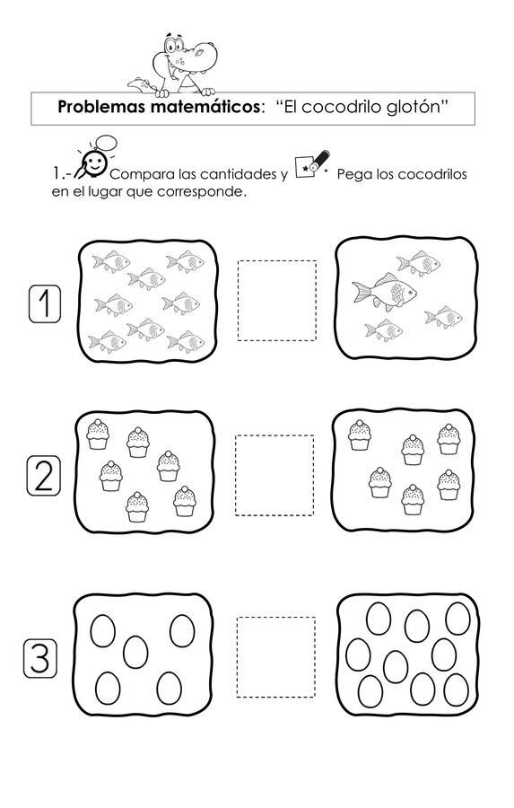 Guia matemática: El cocodrilo glotón