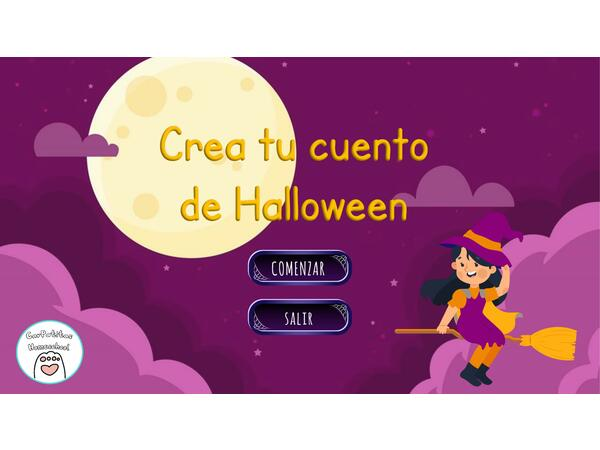 Ruleta Para Crear Cuentos de Halloween | PowerPoint Interactivo