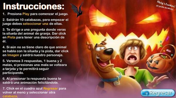 Animales de Granja en Halloween