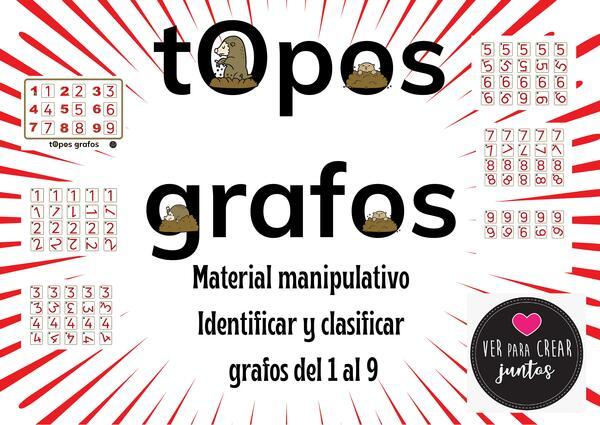 IDENTIFICAR Y CLASIFICAR GRAFOS DEL 1 al 9