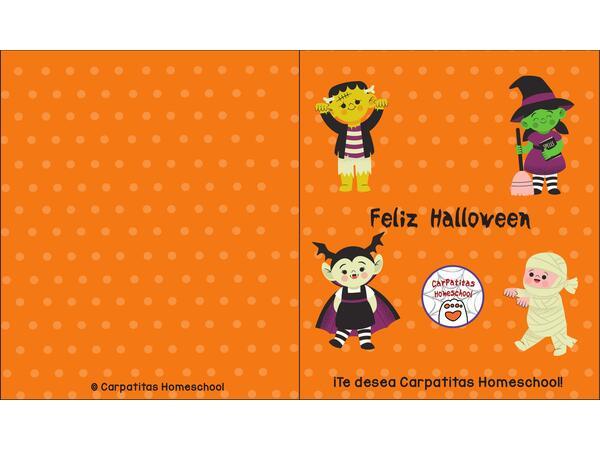 Mini Libro de Halloween | Imprimible