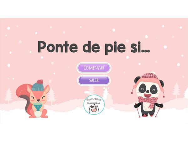 Juego para romper el hielo: Ponte de Pie Si... | PowerPoint para regreso de vacaciones