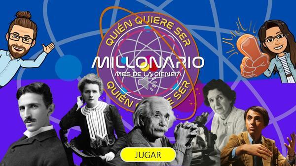 Quién quiere ser millonario: Mes de la ciencia