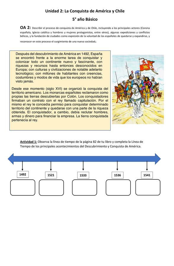 Guía de Descubrimiento y Conquista de América
