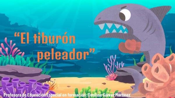 Comprensión lectora  el tiburón peleador