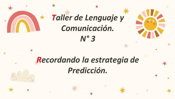 Estrategia de Predicción (continuación PPT anterior)