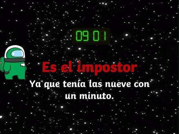 PPT El Impostor de la Hora