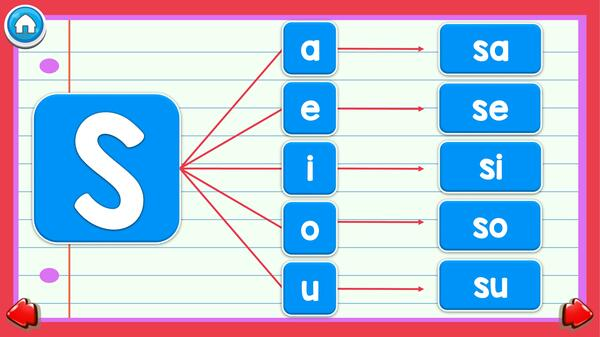 Consonante S | PowerPoint Interactivo