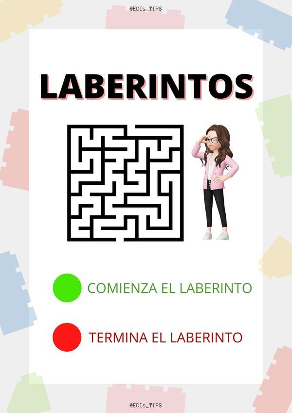 LABERINTOS  @EDIs_TIPS