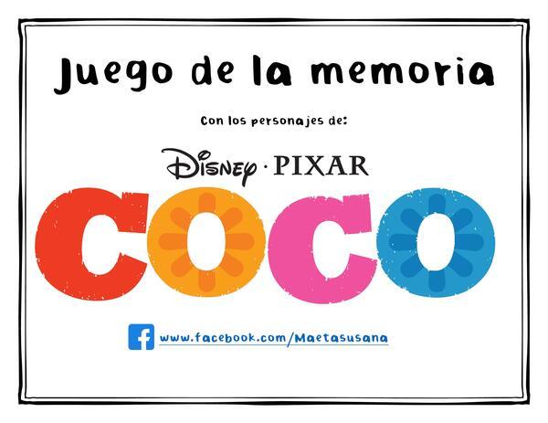 Memoria de la película Coco