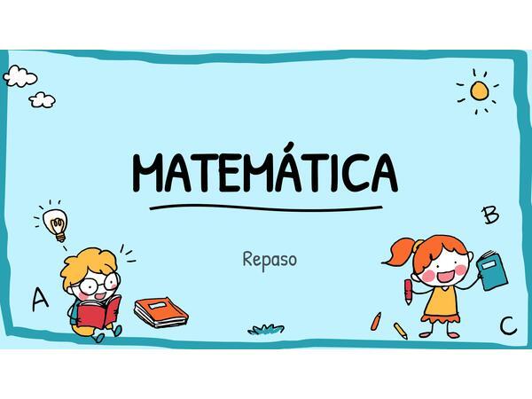Repaso de Matemática