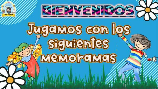 JUEGO 2 - MEMORAMAS DIVERTIDOS