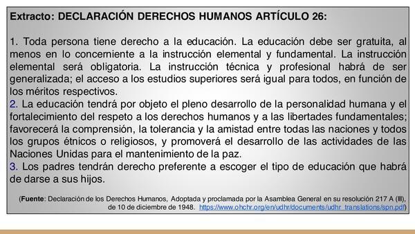 Clase 2: ¡Educarse es un derecho!