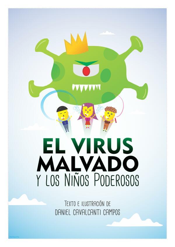 """Cuento """"El virus malvado y los niños poderosos"""""""