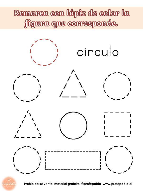 Cuadernillo de figuras geométricas