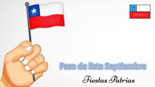 Pase de lista Septiembre Chile